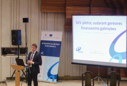 M. Skarupskas: how to make better SMEs access for finance?